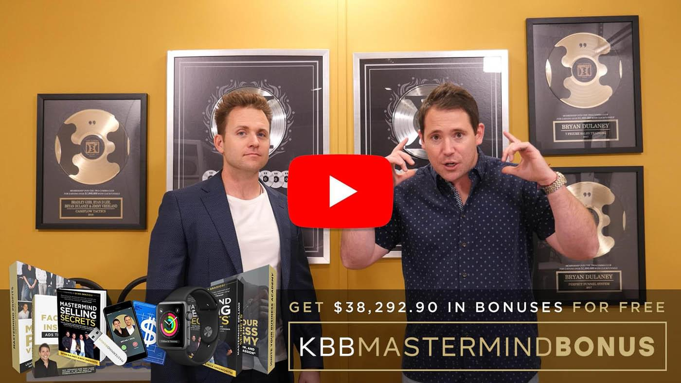 The BEST KBB Bonus Package